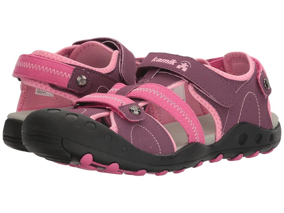 Kamik Kids - Twig (Little Kid/Big Kid) (Plum) Girls Shoes