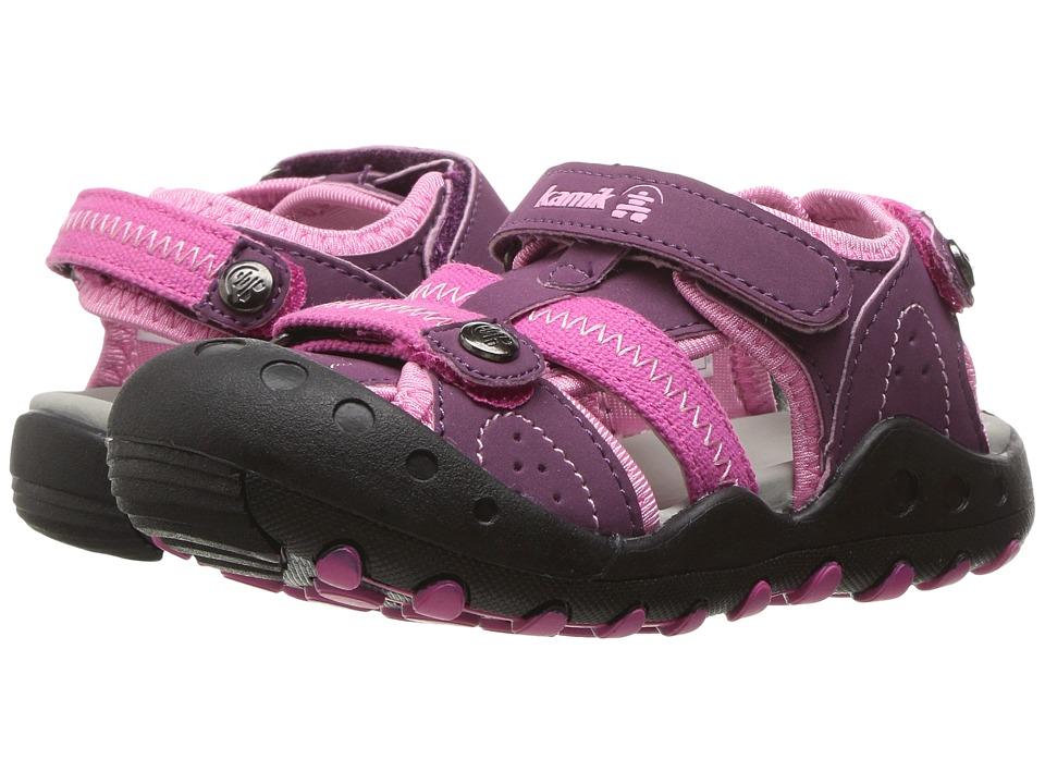 Kamik Kids - Twig (Toddler) (Plum) Girls Shoes