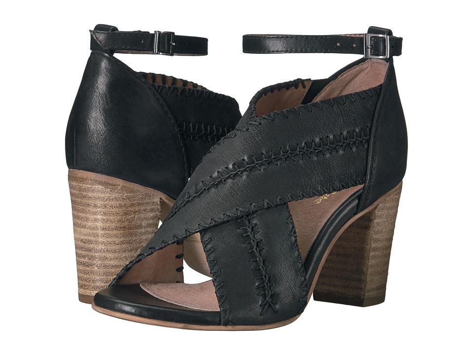 Seychelles - Party Up (Black Suede) Women's Dress Sandals