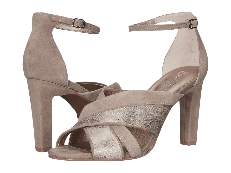 Seychelles Betrayal (Taupe/Platinum) High Heels