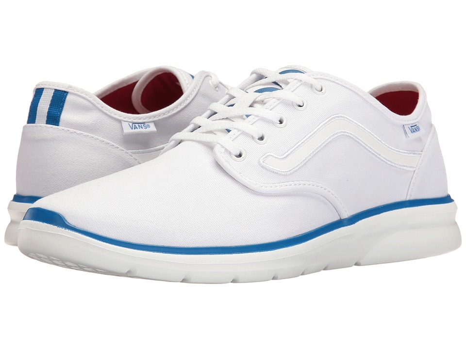 Vans - Iso 2 ((1966) True White/Blue) Skate Shoes