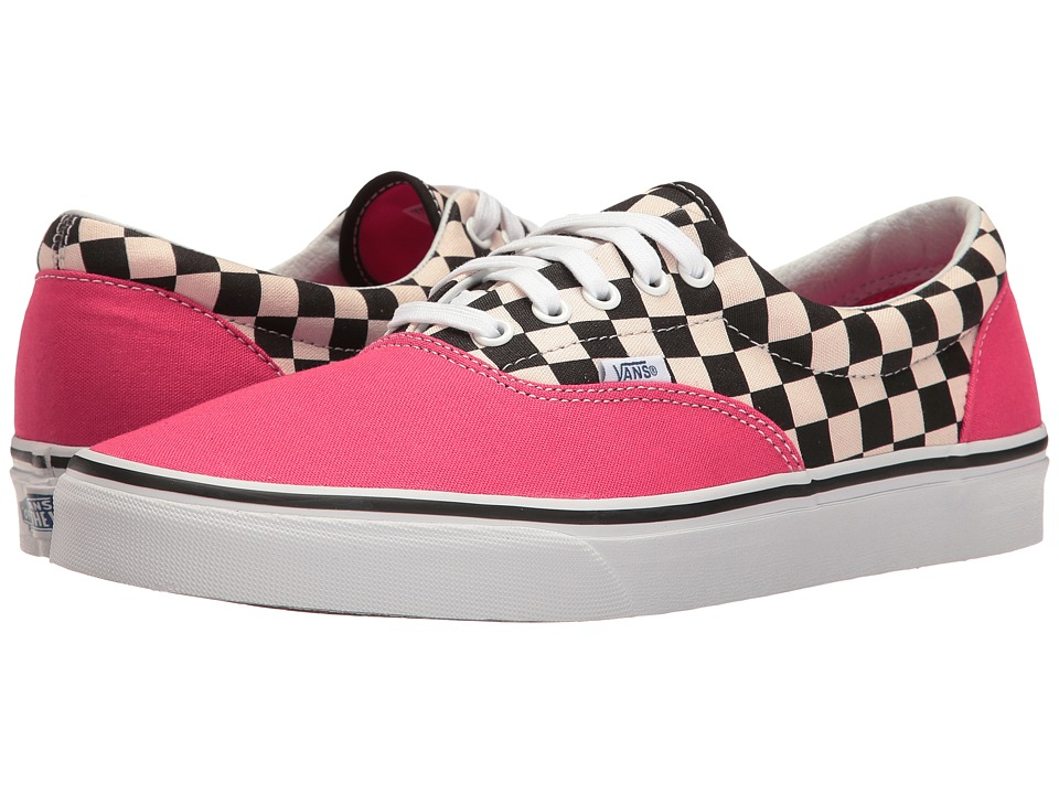 Vans - Eratm ((Two-Tone Check) Rouge Red/True White) Skate Shoes