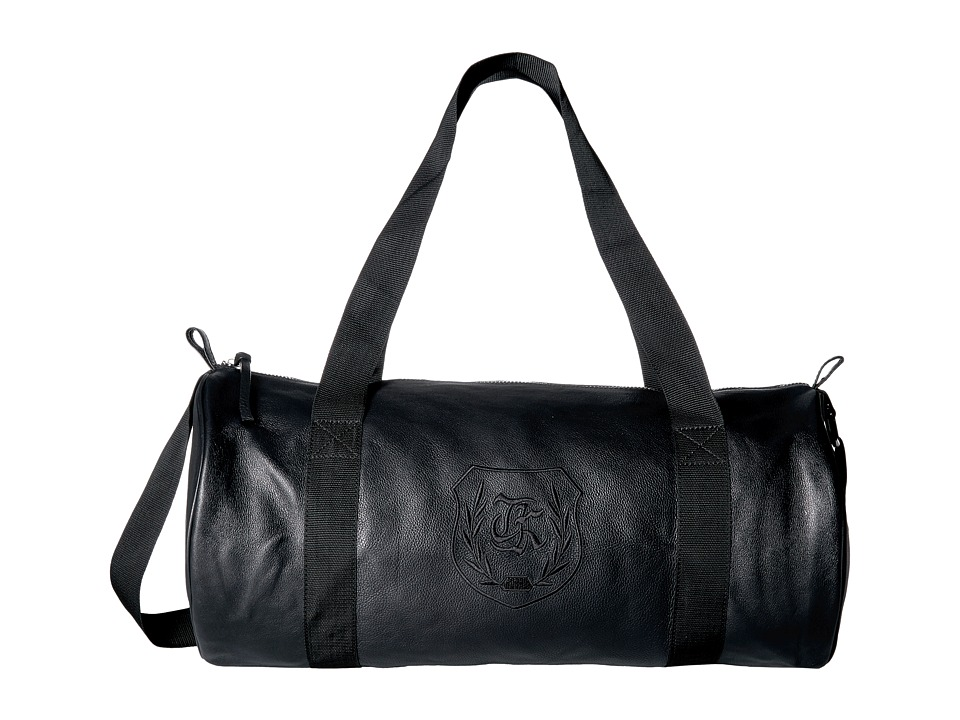 The Kooples - Leather Sports Bag (Black) Bags