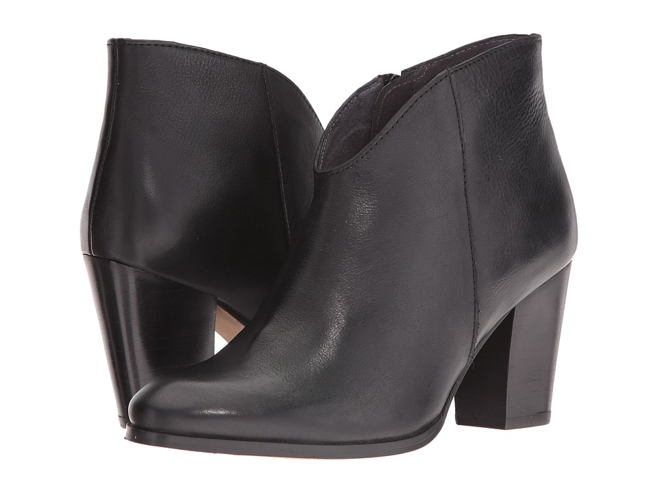 Seychelles - Deception (Black Leather) Women's Dress Boots