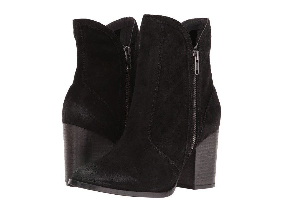 Seychelles - Lori Penny (Black Suede) Women's Dress Boots