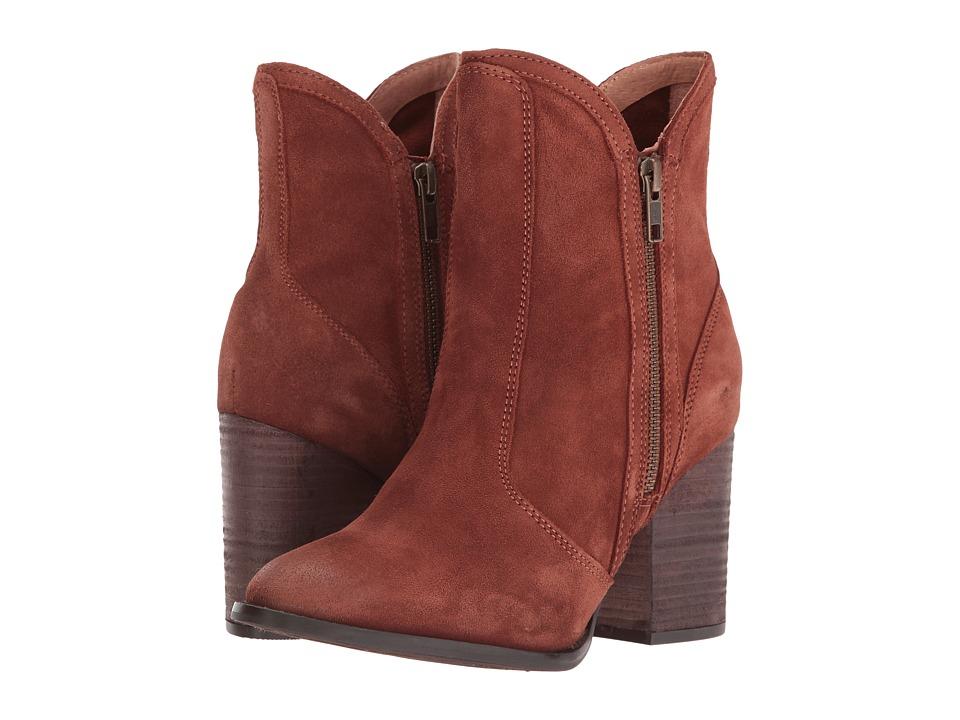 Seychelles - Lori Penny (Cognac Suede) Women's Dress Boots