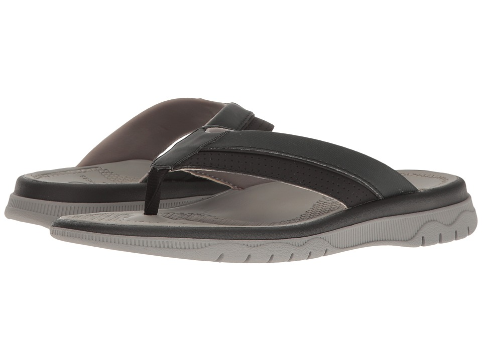 Clarks - Balta Sun (Black Synthetic) Men's Shoes