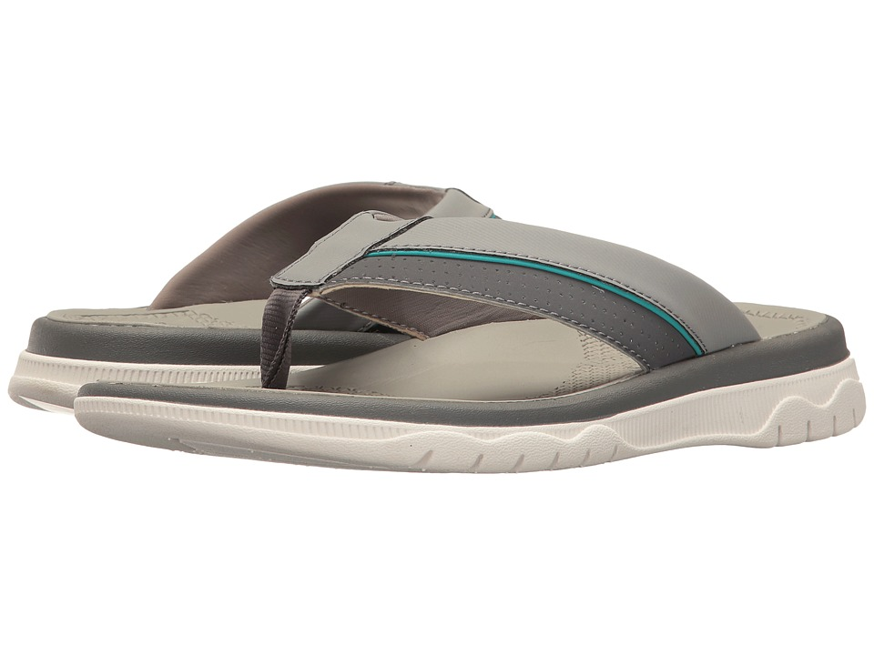 Clarks - Balta Sun (Grey Synthetic) Men's Shoes