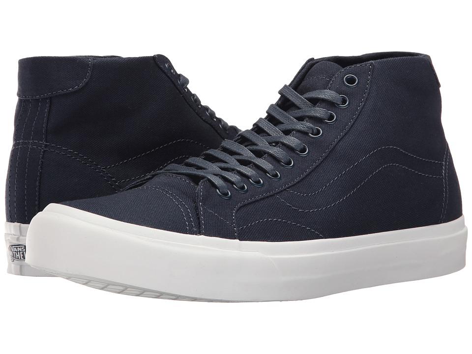 Vans - Court Mid ((Canvas) Dress Blues) Men's Skate Shoes