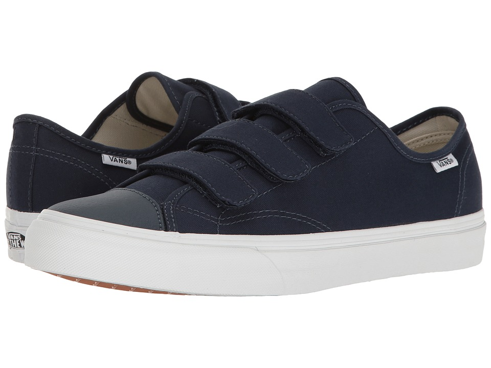 Vans - Style 23 V ((Canvas) Dress Blues/True White) Skate Shoes