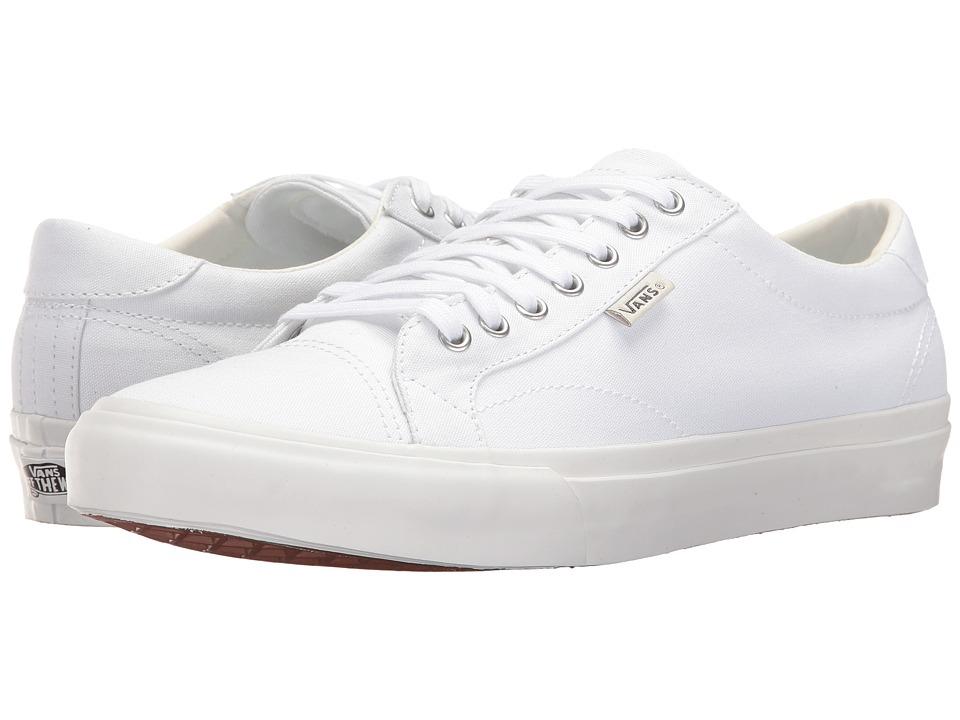 Vans - Court (True White) Men's Skate Shoes