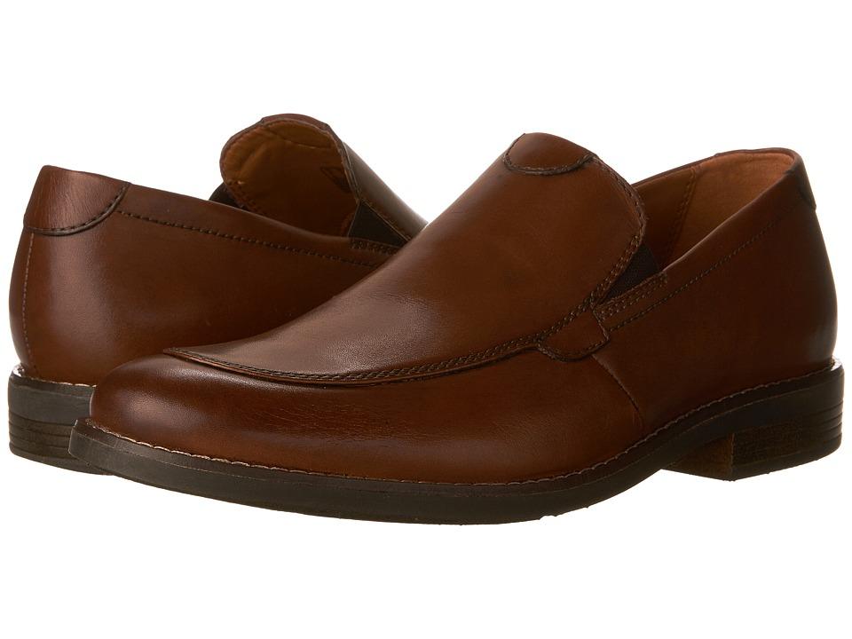Clarks Becken Step (Tan Leather) Men