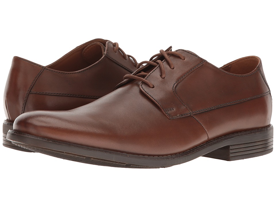 Clarks - Becken Plain (Tan Leather) Men's Shoes