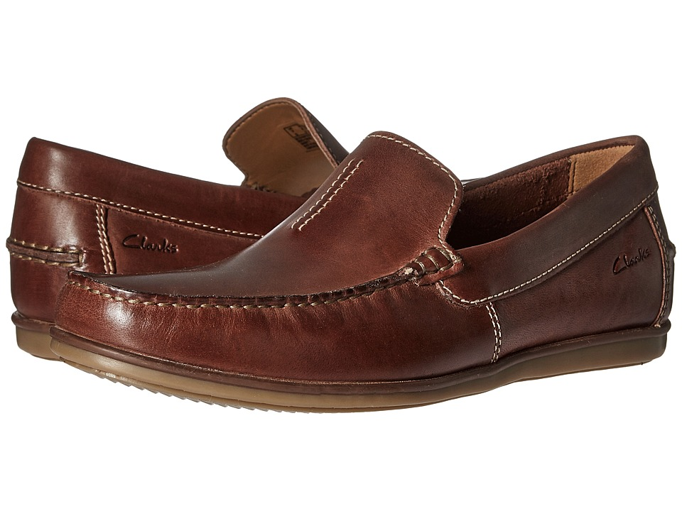 Clarks - Bristow Race (Cognac Leather) Men's Shoes