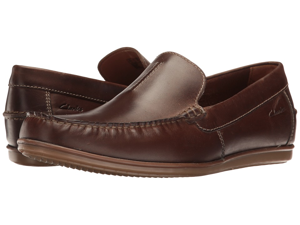 Clarks - Bristow Race (Tan Leather) Men's Shoes