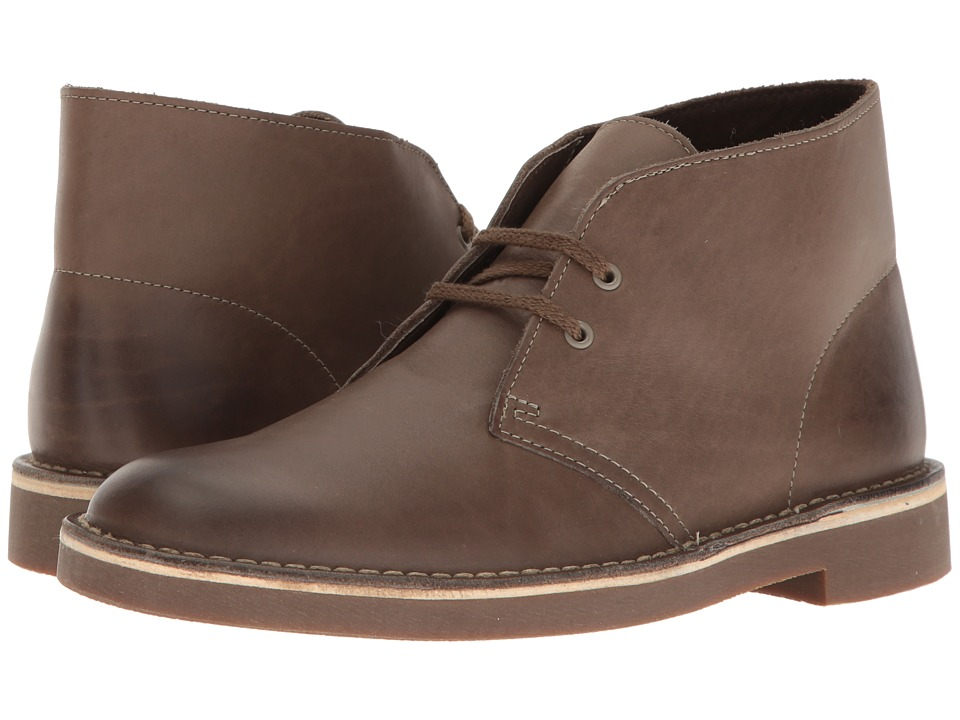 Clarks Bushacre II (Khaki Leather) Men