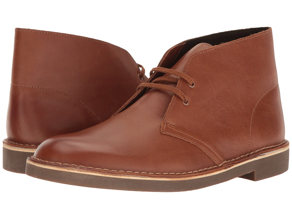 Clarks - Bushacre II (British Tan Leather) Men's Lace-up Boots