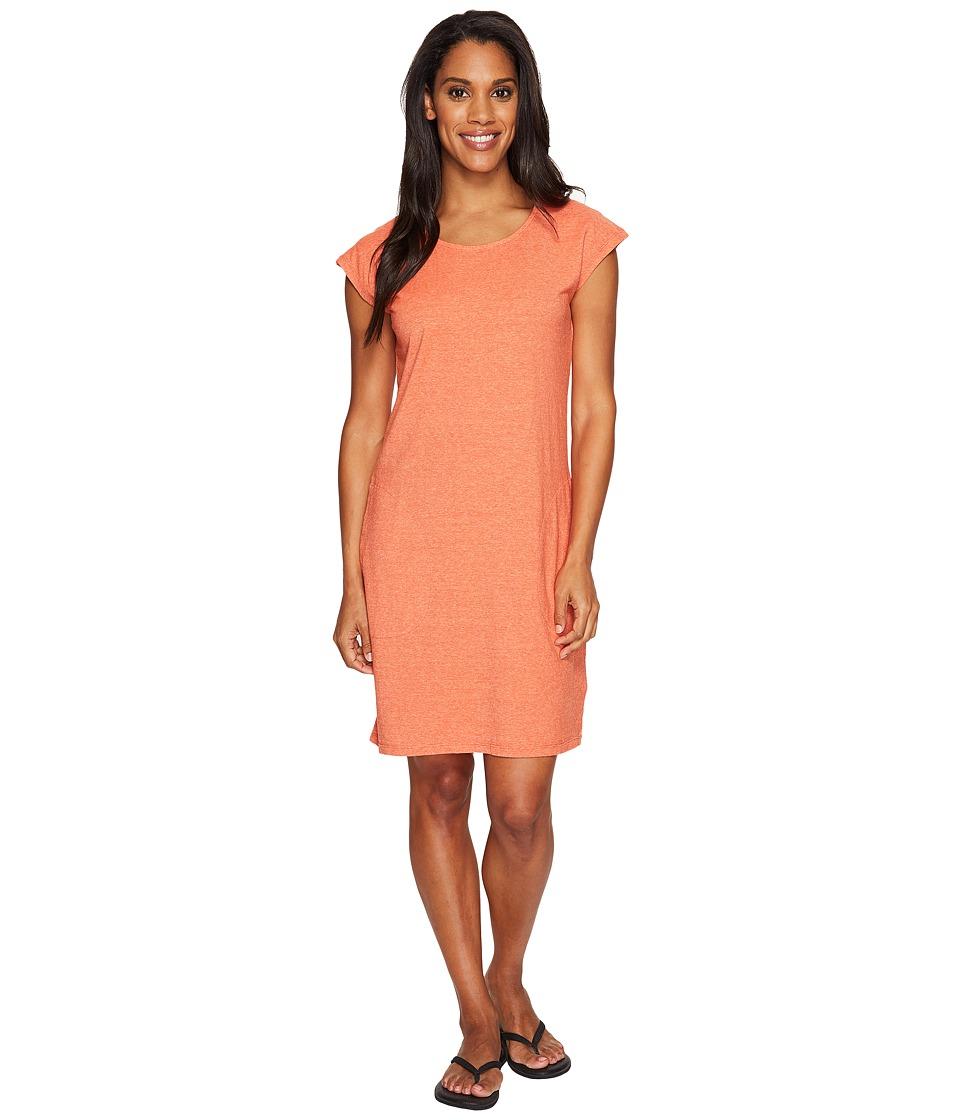 NAU - Short Sleeve Kanab T-Shirt Dress (Poppy Heather) Women's Dress