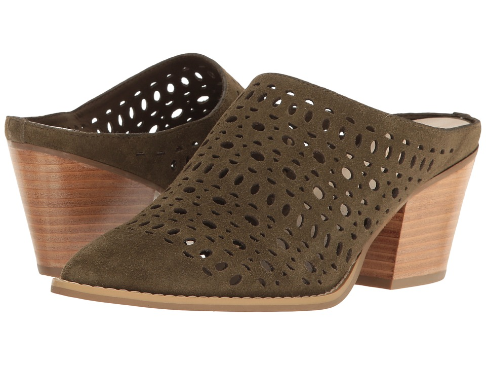 Seychelles - I'm A Star (Olive) Women's Clog/Mule Shoes