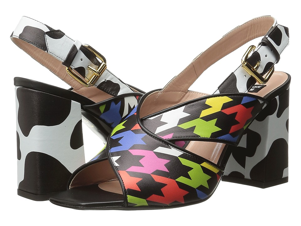 Boutique Moschino - Strap Sandal (Multicolour) Women's Dress Sandals