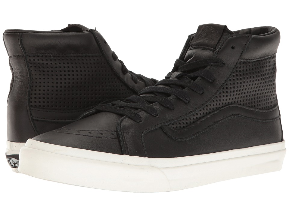 Vans - Sk8-Hi Slim Cutout DX ((Square Perf) Black) Skate Shoes