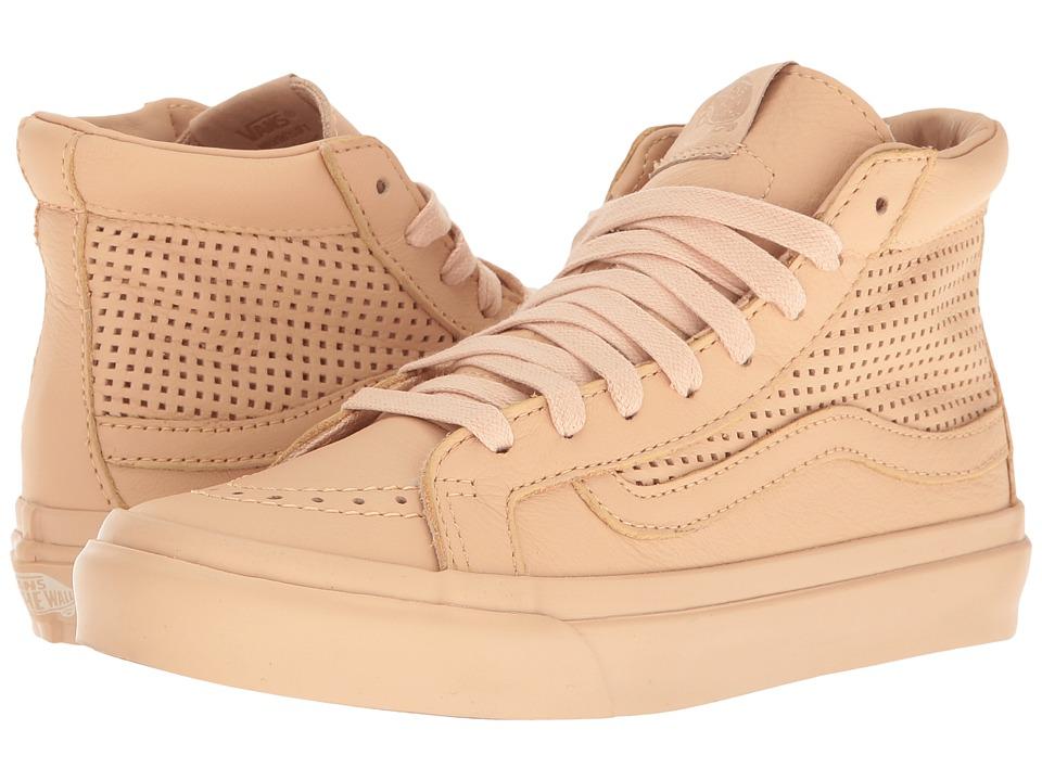 Vans - Sk8-Hi Slim Cutout DX ((Square Perf) Amberlight) Skate Shoes
