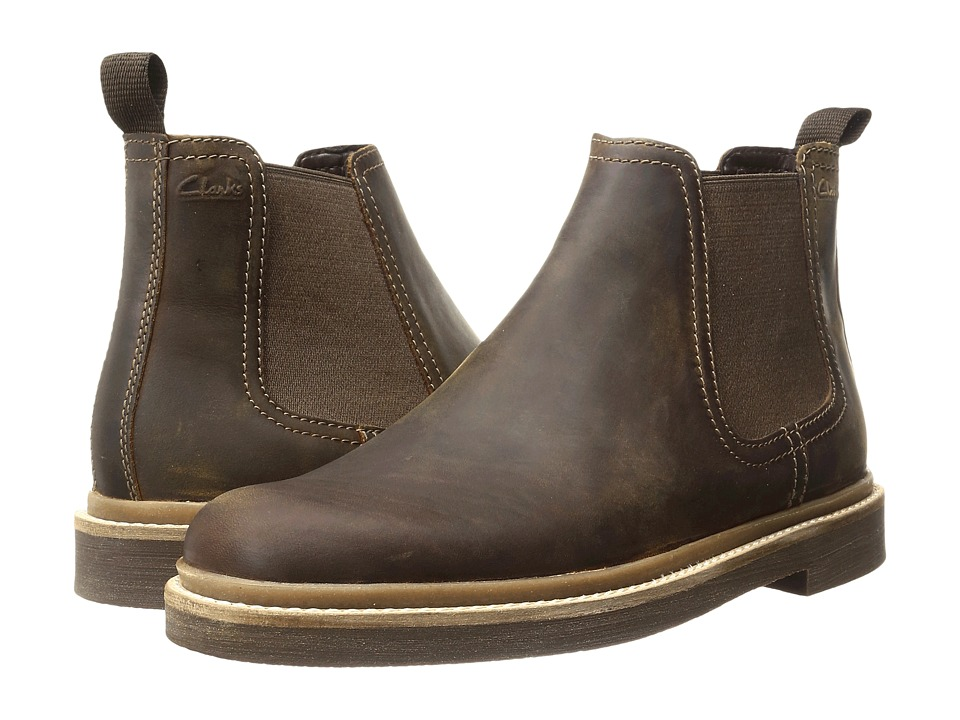 Clarks Bushacre Up (Beeswax Leather) Men