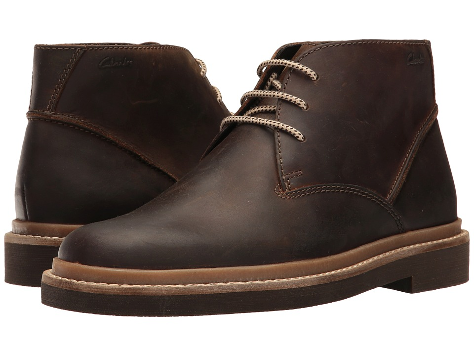 Clarks - Bushacre Ridge (Beeswax Leather) Men's Shoes