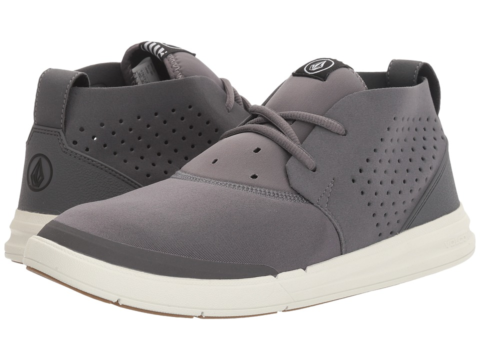 Volcom - Draft Mid (Neutral Grey) Men's Lace up casual Shoes