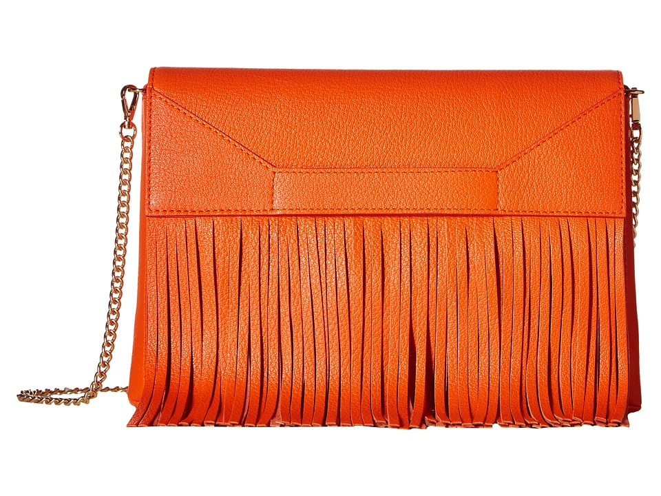 Boutique Moschino - Fringes Shoulder Bag (Red 0041) Shoulder Handbags
