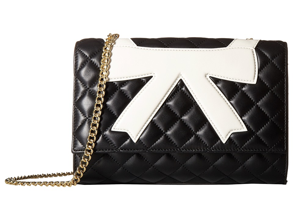 Boutique Moschino - Bow Collar Bag (Black 1555) Handbags