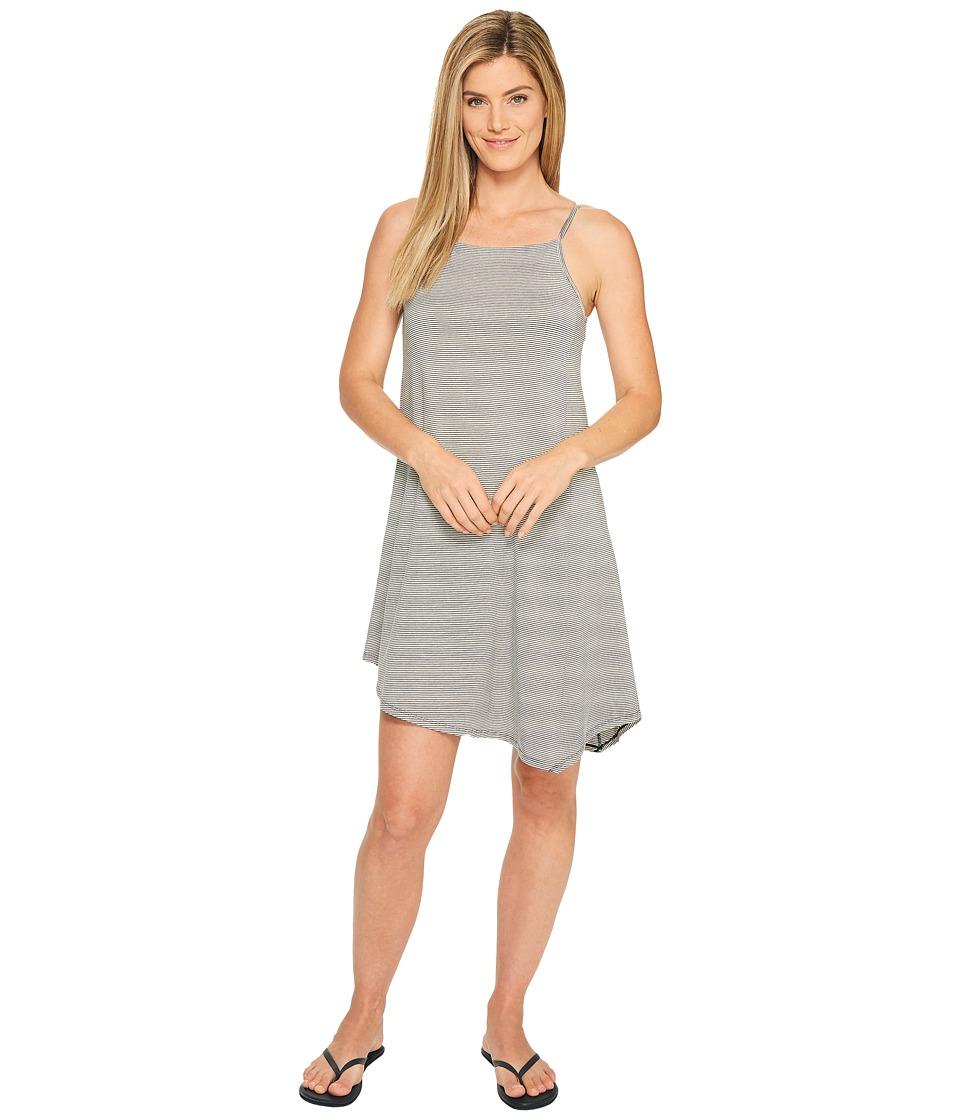 NAU Astir Strappy Dress (Caviar Stripe) Women