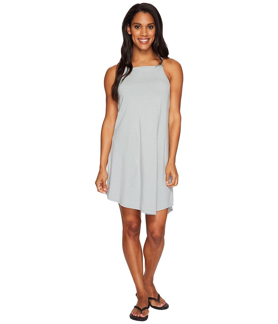 NAU Astir Strappy Dress (Slate Stripe) Women