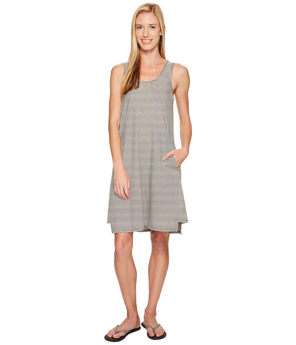 NAU Astir Tank Dress (Caviar Stripe) Women