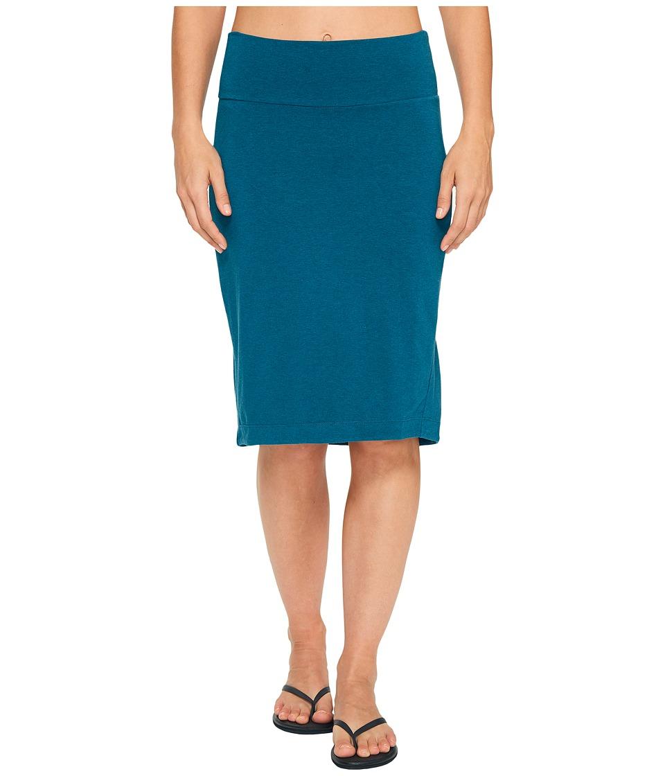 NAU - Astir Lapiz Skirt (Peacock) Women's Skirt