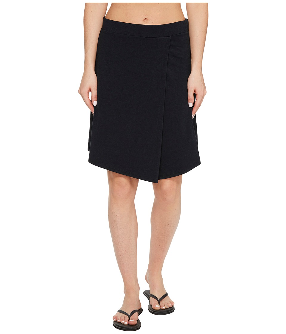 NAU Astir Pleat Skirt (Caviar) Women