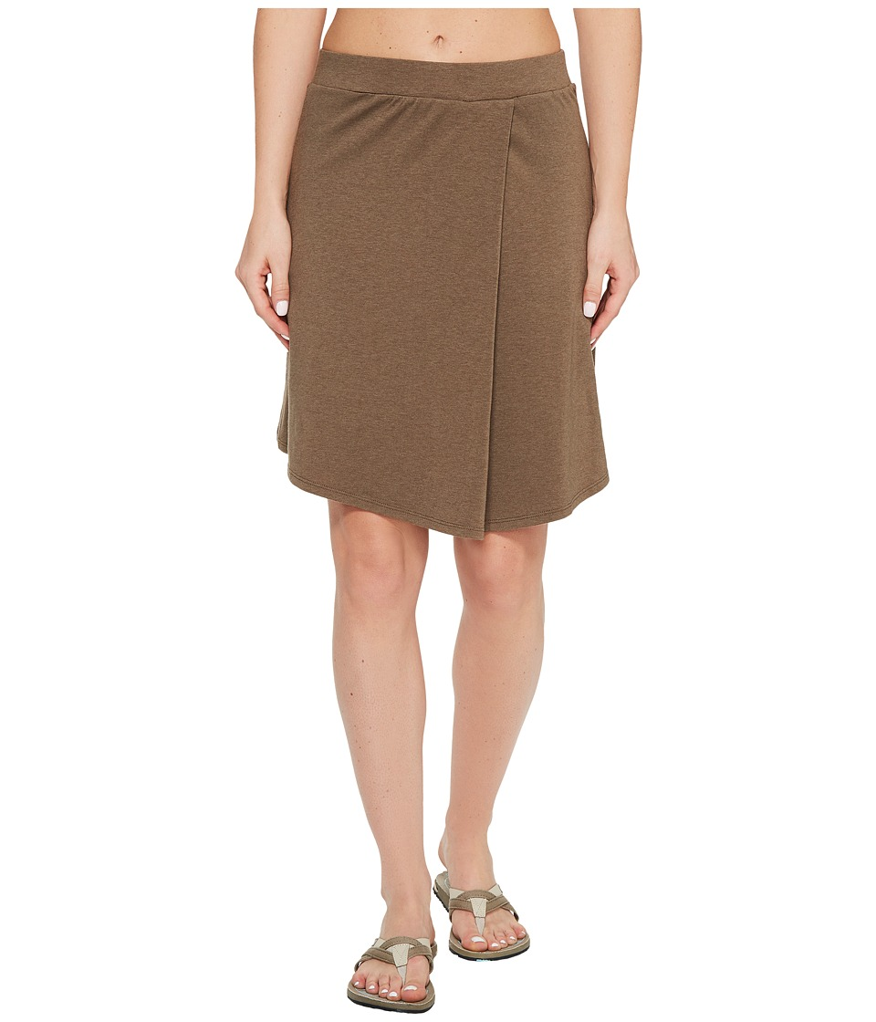 NAU - Astir Pleat Skirt (Sable) Women's Skirt