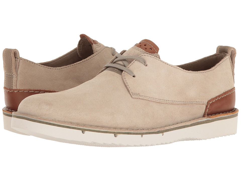 Clarks - Capler Plain (Sand Suede) Men's Shoes