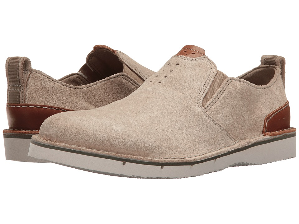 Clarks - Capler Step (Sand Suede) Men's Shoes