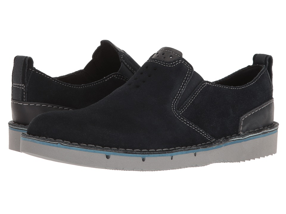 Clarks - Capler Step (Navy Suede) Men's Shoes