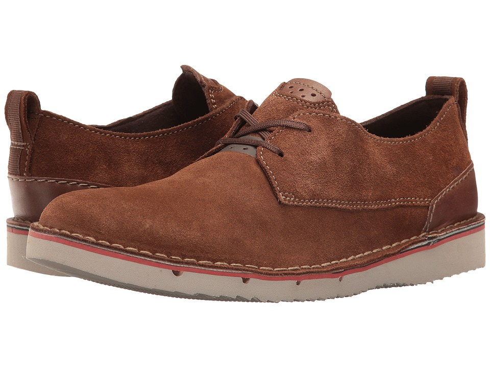 Clarks - Capler Plain (Brown Suede) Men's Shoes