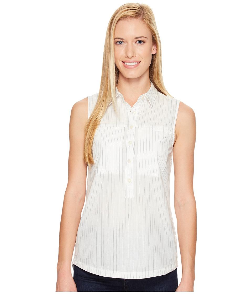 NAU - Skipline Tank Top (Poplar Stripe) Women's Sleeveless