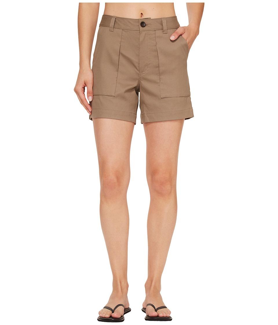 NAU - Kush Shorts (Dark Khaki) Women's Shorts
