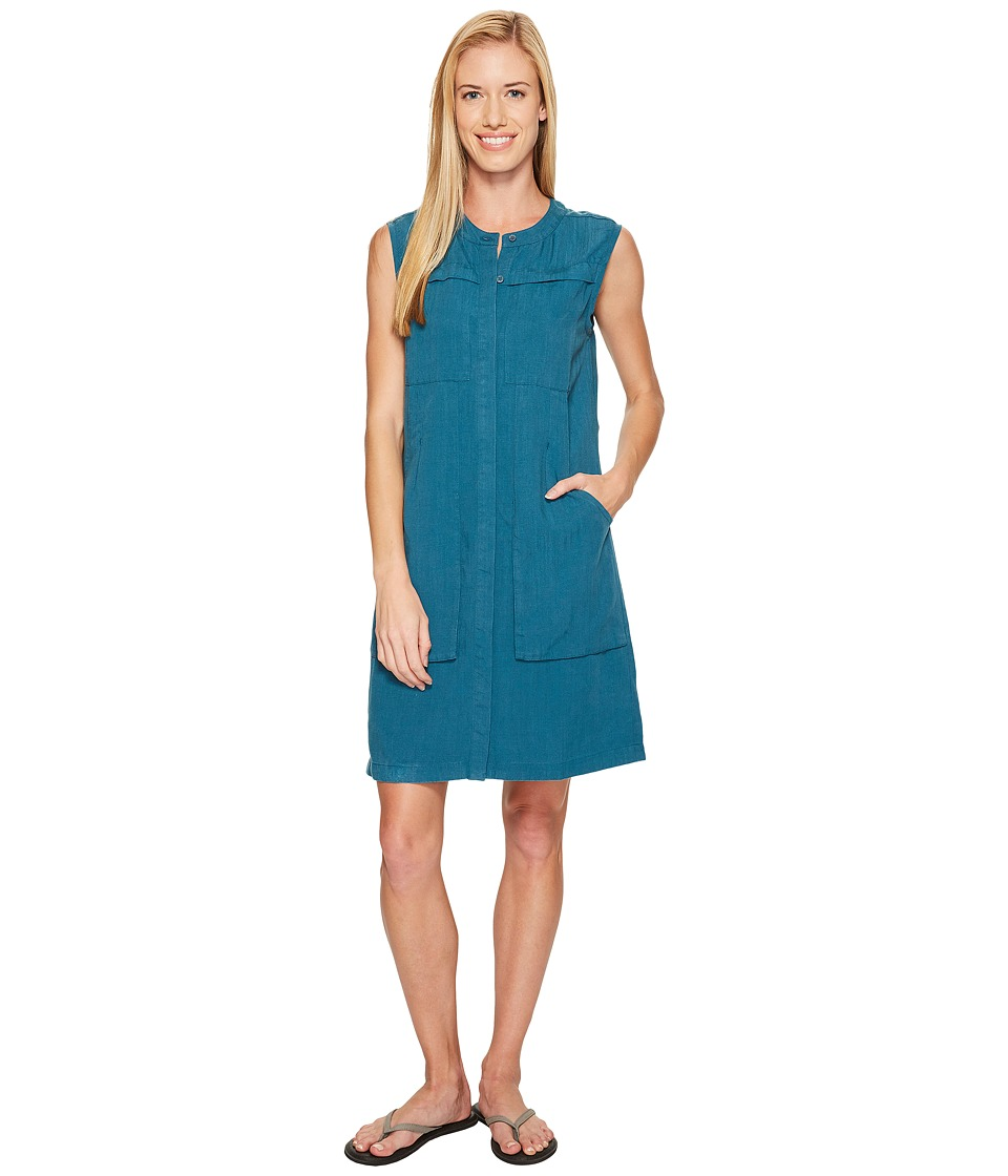 NAU - Flaxible Sleeveless Dress (Peacock) Women's Dress
