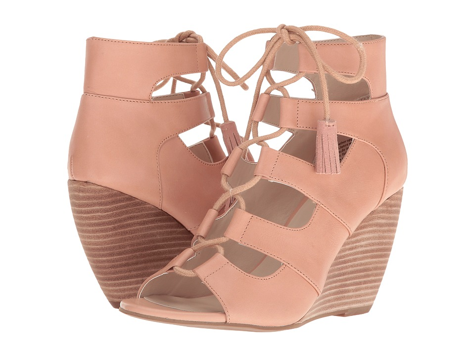 Seychelles - Delirious (Nude Leather) Women's Wedge Shoes