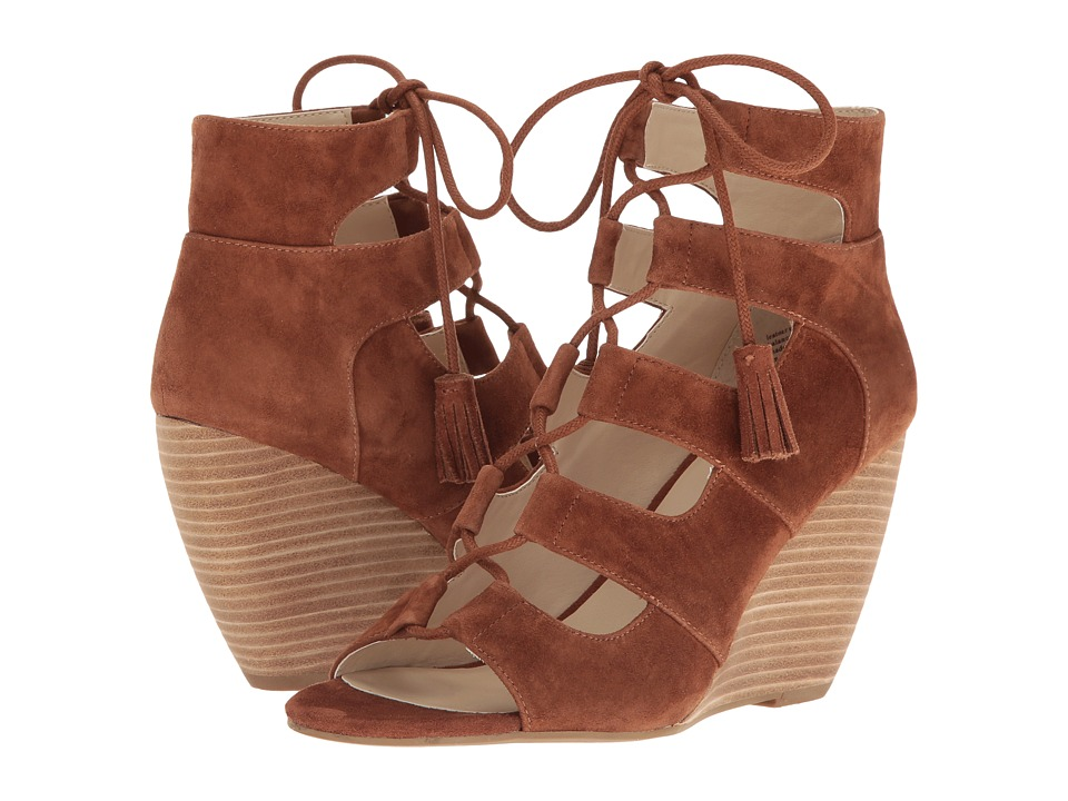 Seychelles - Delirious (Cognac Suede) Women's Wedge Shoes