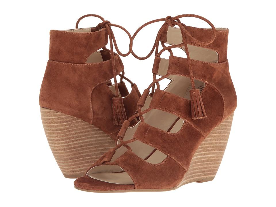 Seychelles - Delirious (Cognac Suede) Women's Wedge Shoes