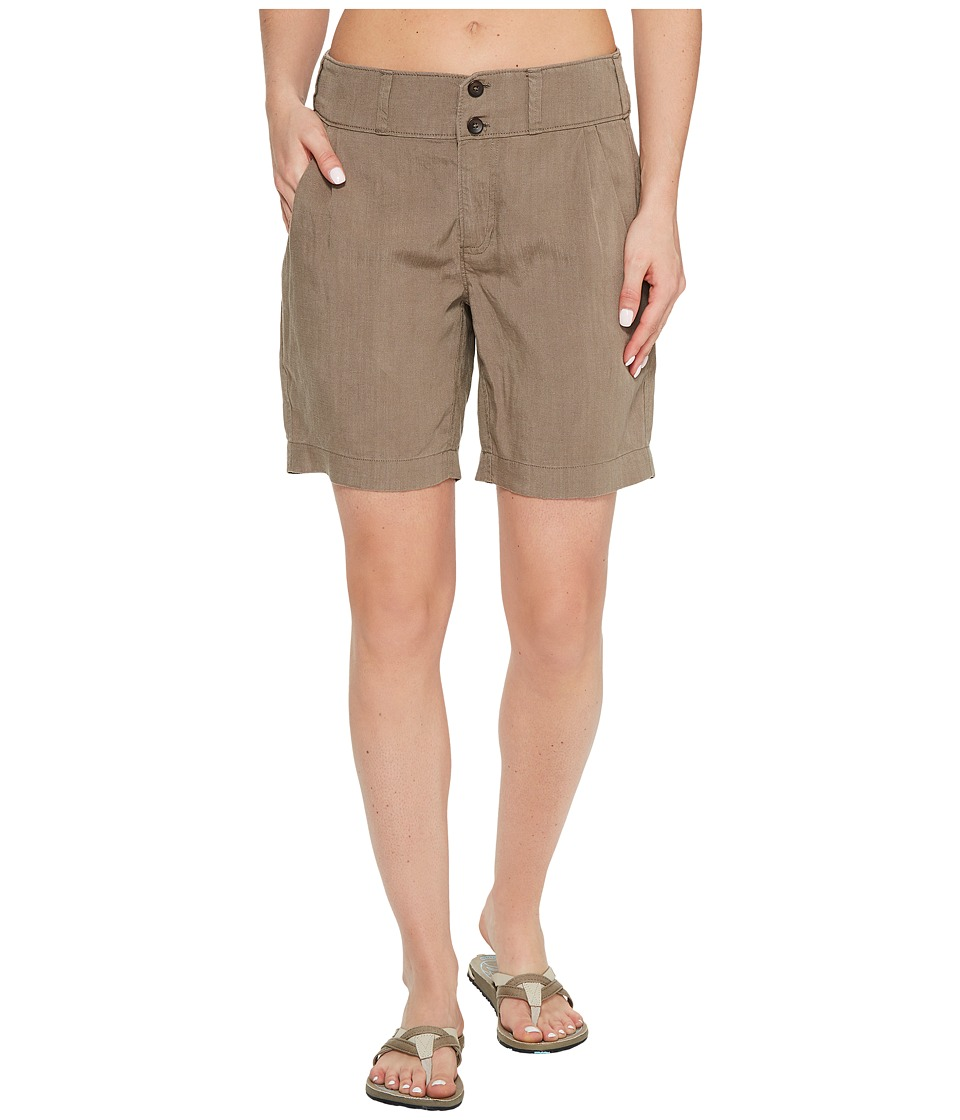 NAU - Flaxible Long Shorts (Sable) Women's Shorts