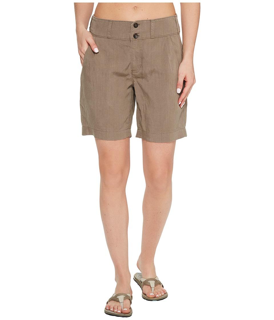 NAU - Flaxible Long Shorts (Sable) Women's Shorts