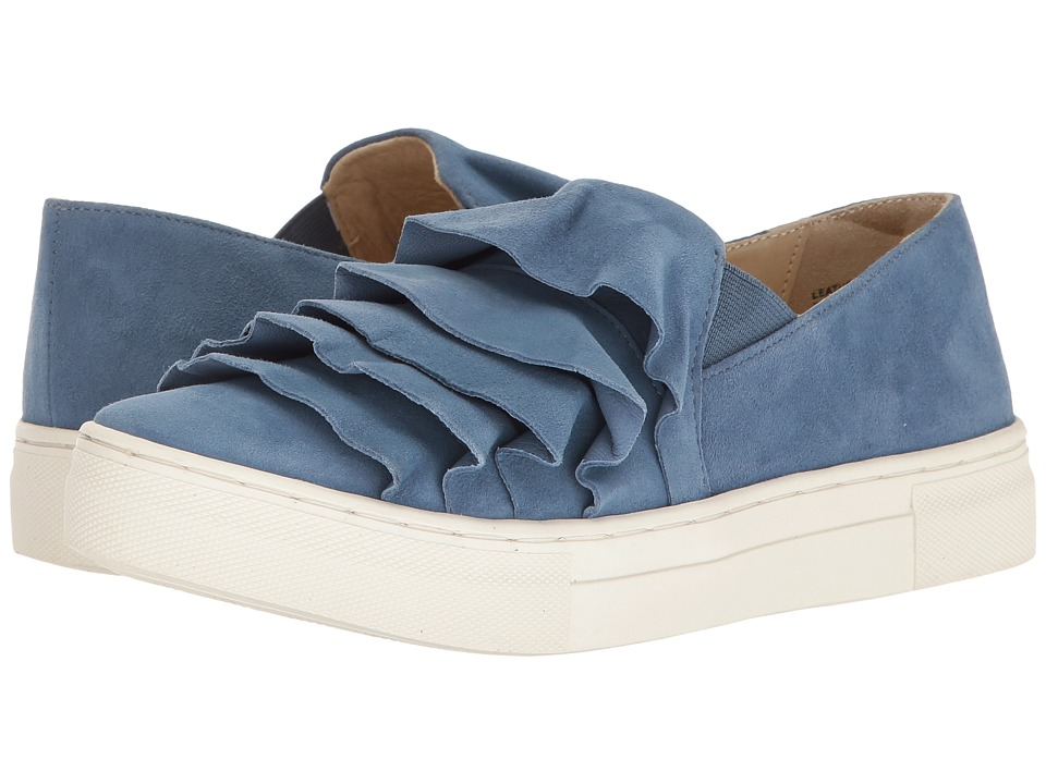 Seychelles - Quake (Mid Blue) Women's Slip on Shoes